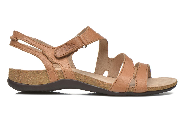 Sandales et nu-pieds TBS Belice Marron vue derrière