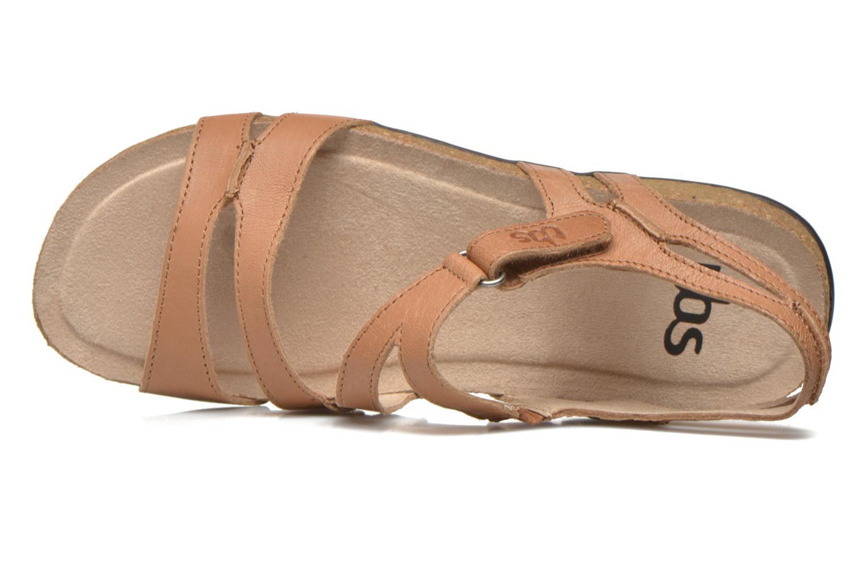 Sandales et nu-pieds TBS Belice Marron vue gauche