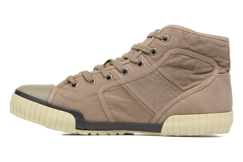 Sneakers TBS Crypto Bruin voorkant
