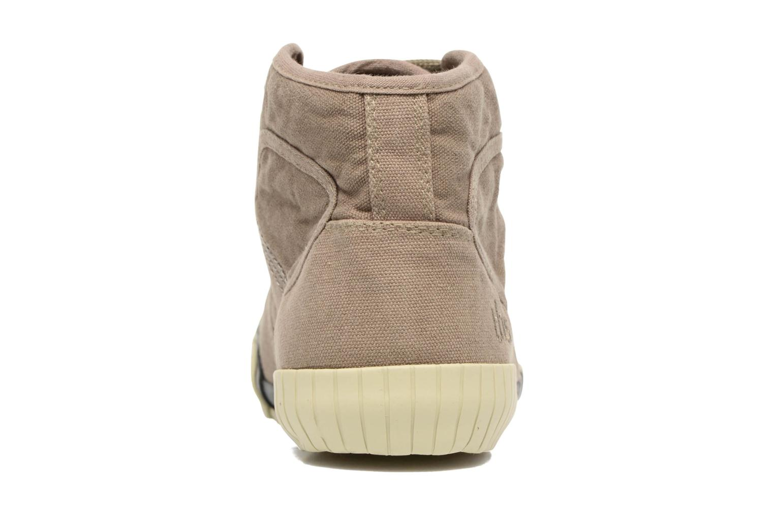 Trainers TBS Crypto Brown view from the right