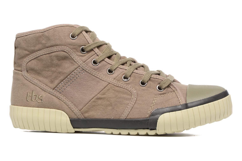 Sneakers TBS Crypto Bruin achterkant