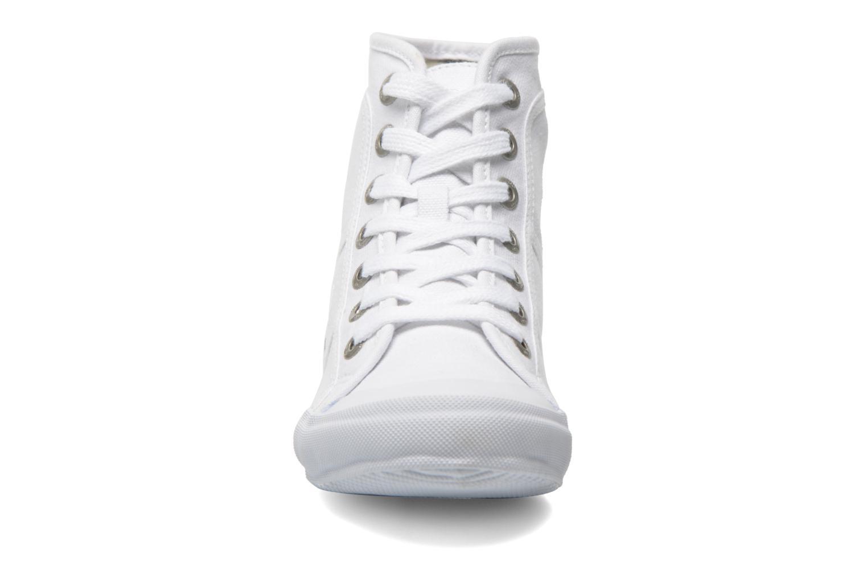 Baskets TBS Obelia Blanc vue portées chaussures