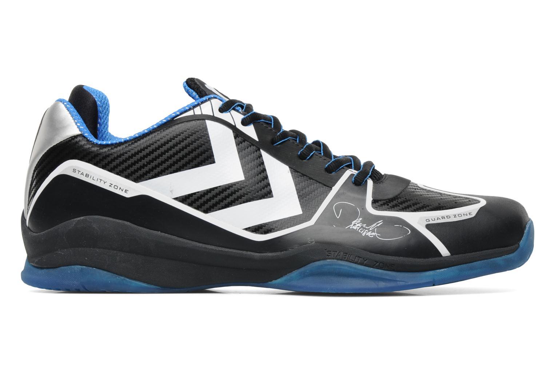 Chaussures de sport Hummel Authentic Carbon X M Noir vue derrière