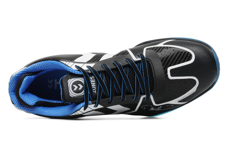 Chaussures de sport Hummel Authentic Carbon X M Noir vue gauche