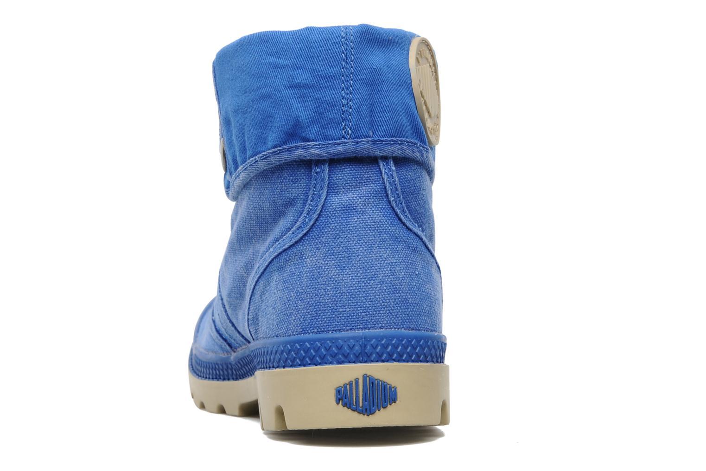 Sneakers Palladium Baggy CVS f Blauw rechts
