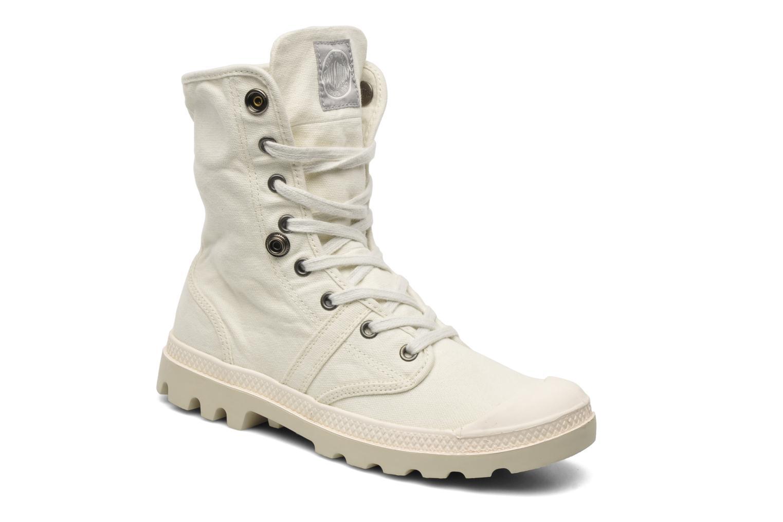Sneakers Palladium Baggy CVS f Wit 3/4'