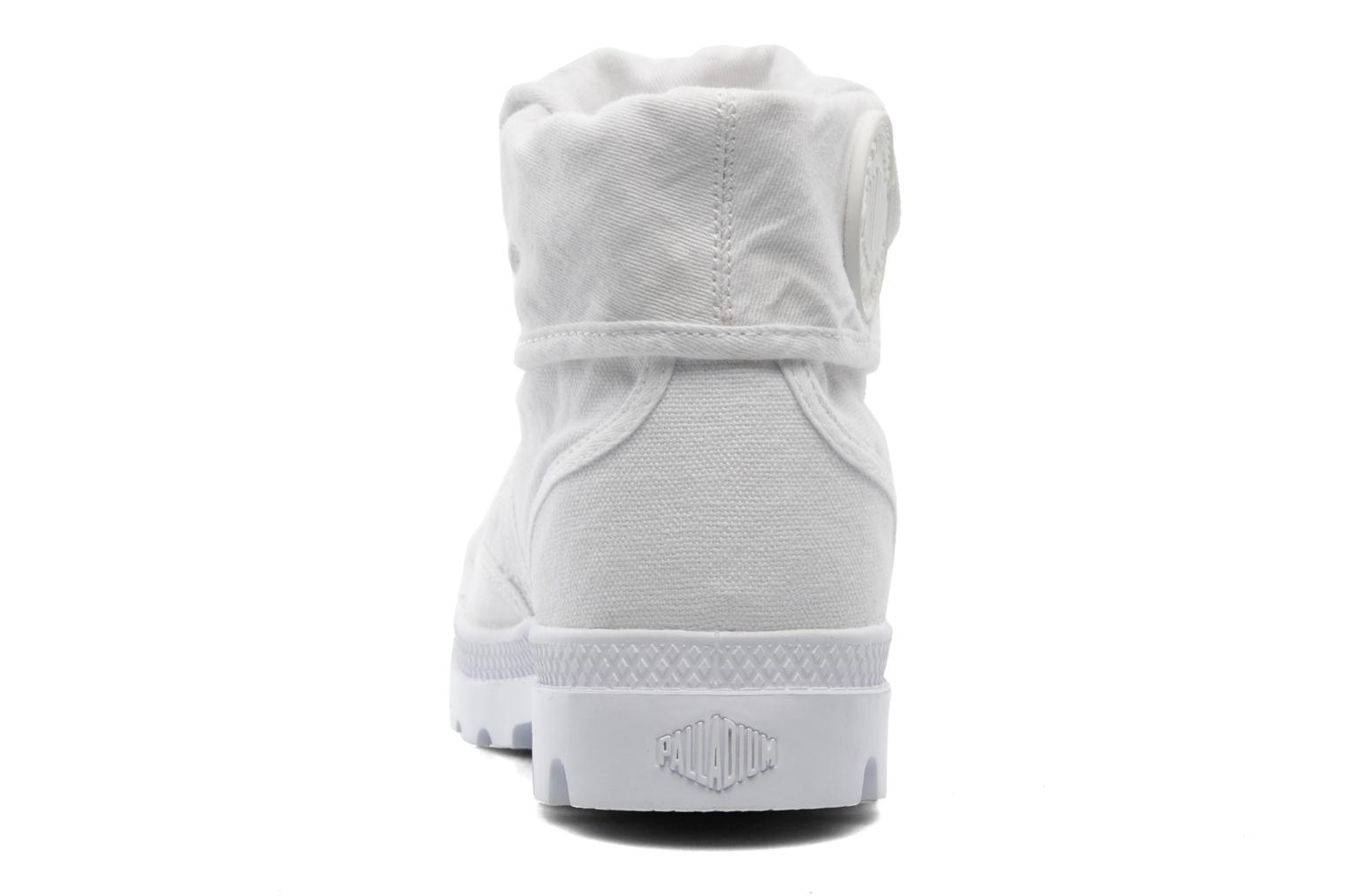 Trainers Palladium Baggy CVS f White view from the right