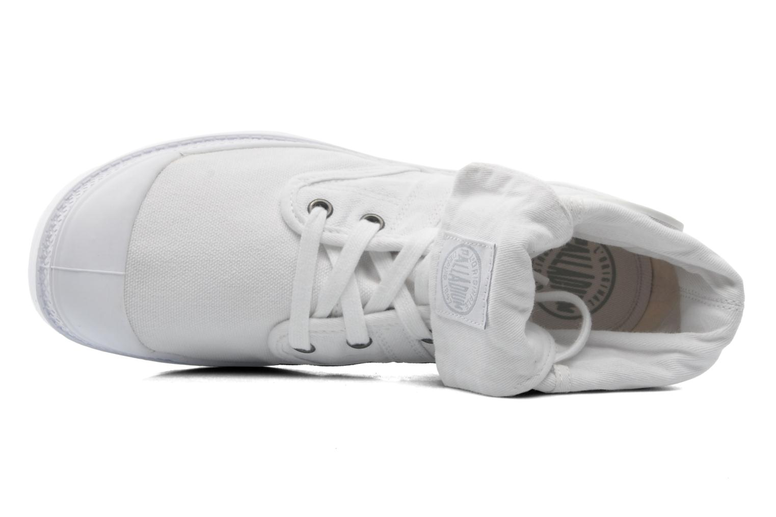 Trainers Palladium Baggy CVS f White view from the left