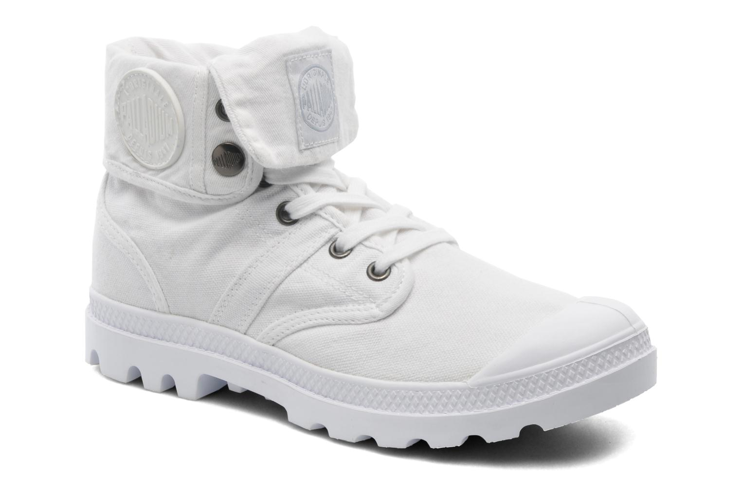 Trainers Palladium Baggy CVS f White detailed view/ Pair view