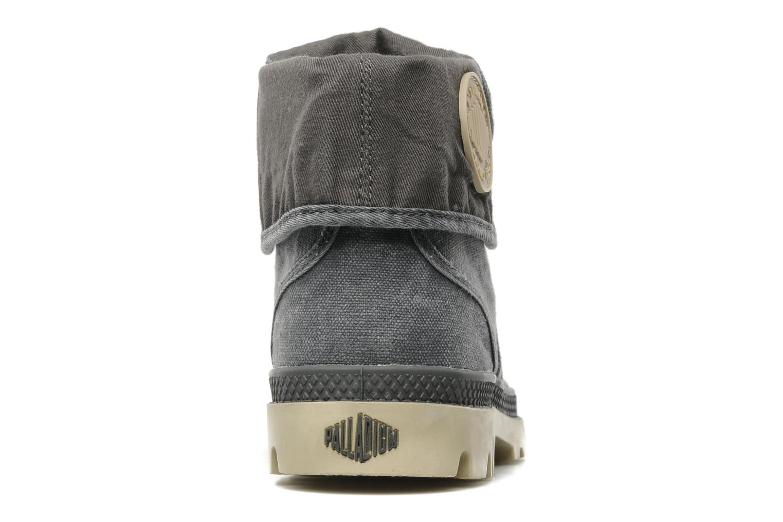 Sneakers Palladium Baggy m Grijs rechts