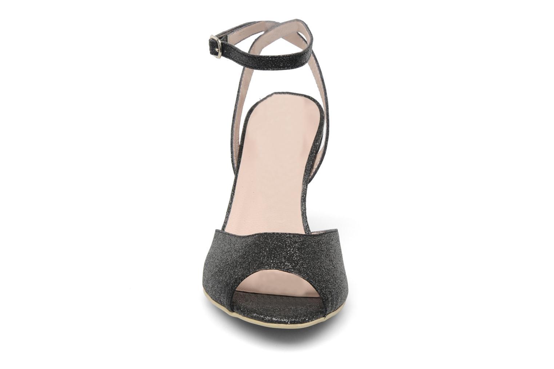 Sandalen Georgia Rose Tagajo schwarz schuhe getragen