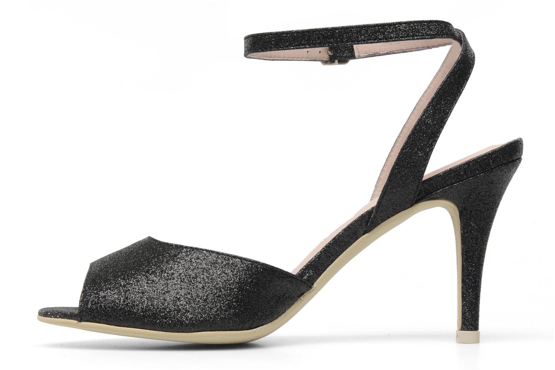 Sandalen Georgia Rose Tagajo schwarz ansicht von vorne