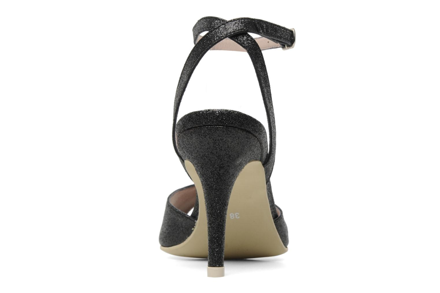 Sandals Georgia Rose Tagajo Black view from the right