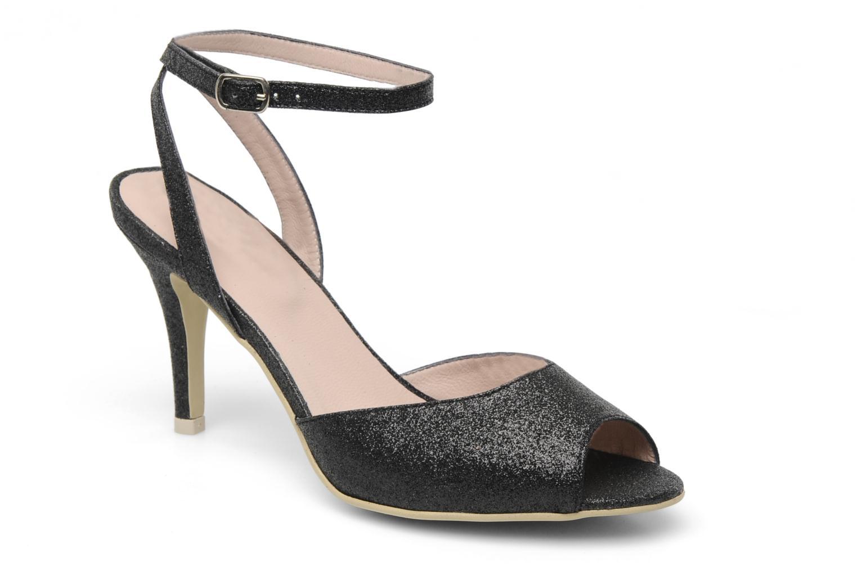 Sandalen Georgia Rose Tagajo schwarz detaillierte ansicht/modell