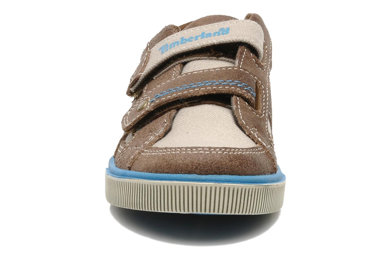 Baskets Timberland EK Atlantic Ave H&L Ox Marron vue portées chaussures