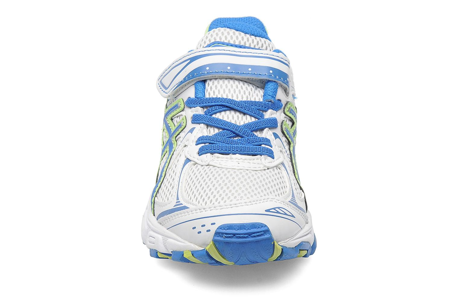 Sport shoes Asics Pre Galaxy 6 Ps White model view