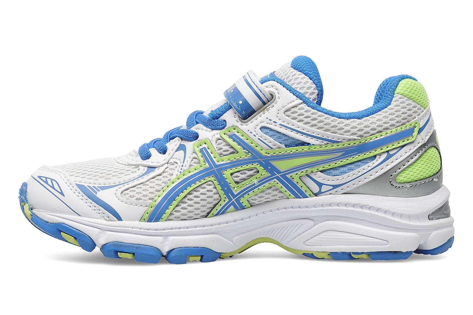 Sport shoes Asics Pre Galaxy 6 Ps White front view