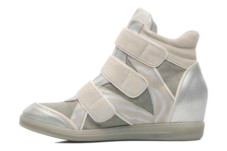 Sneaker Pataugas Valent silber ansicht von vorne