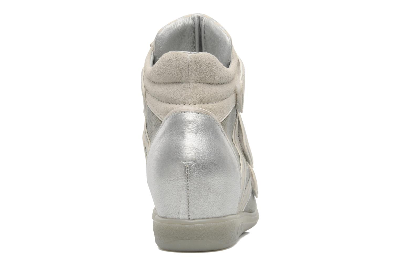 Sneaker Pataugas Valent silber ansicht von rechts