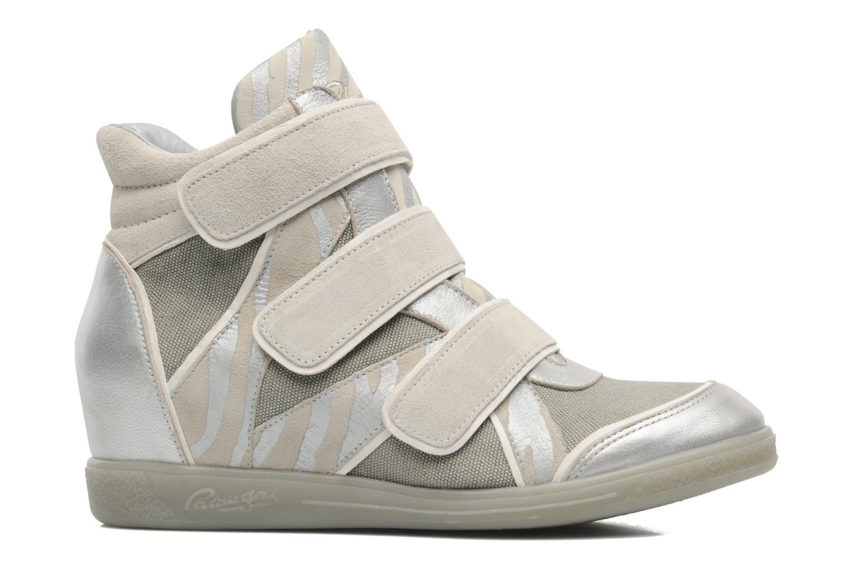 Sneaker Pataugas Valent silber ansicht von hinten
