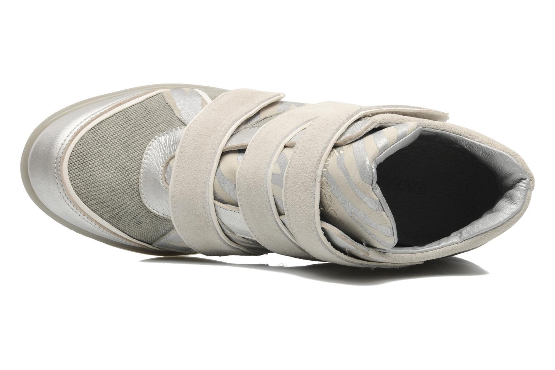 Sneaker Pataugas Valent silber ansicht von links