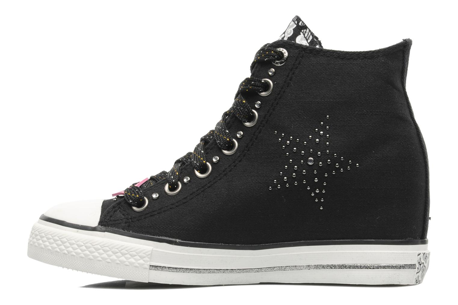 Sneakers Skechers Daddy's money- Star Studded 39101 Zwart voorkant