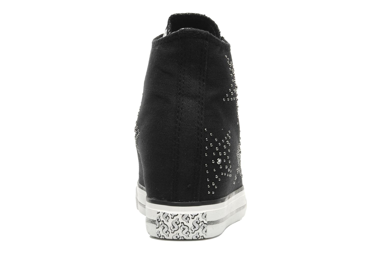 Sneakers Skechers Daddy's money- Star Studded 39101 Zwart rechts