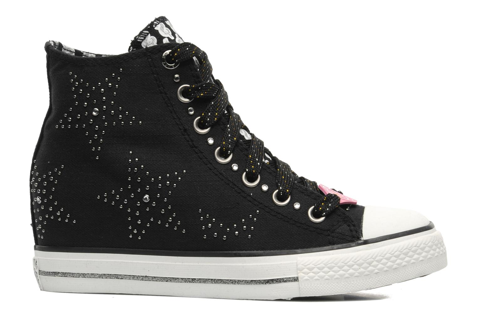Sneakers Skechers Daddy's money- Star Studded 39101 Zwart achterkant