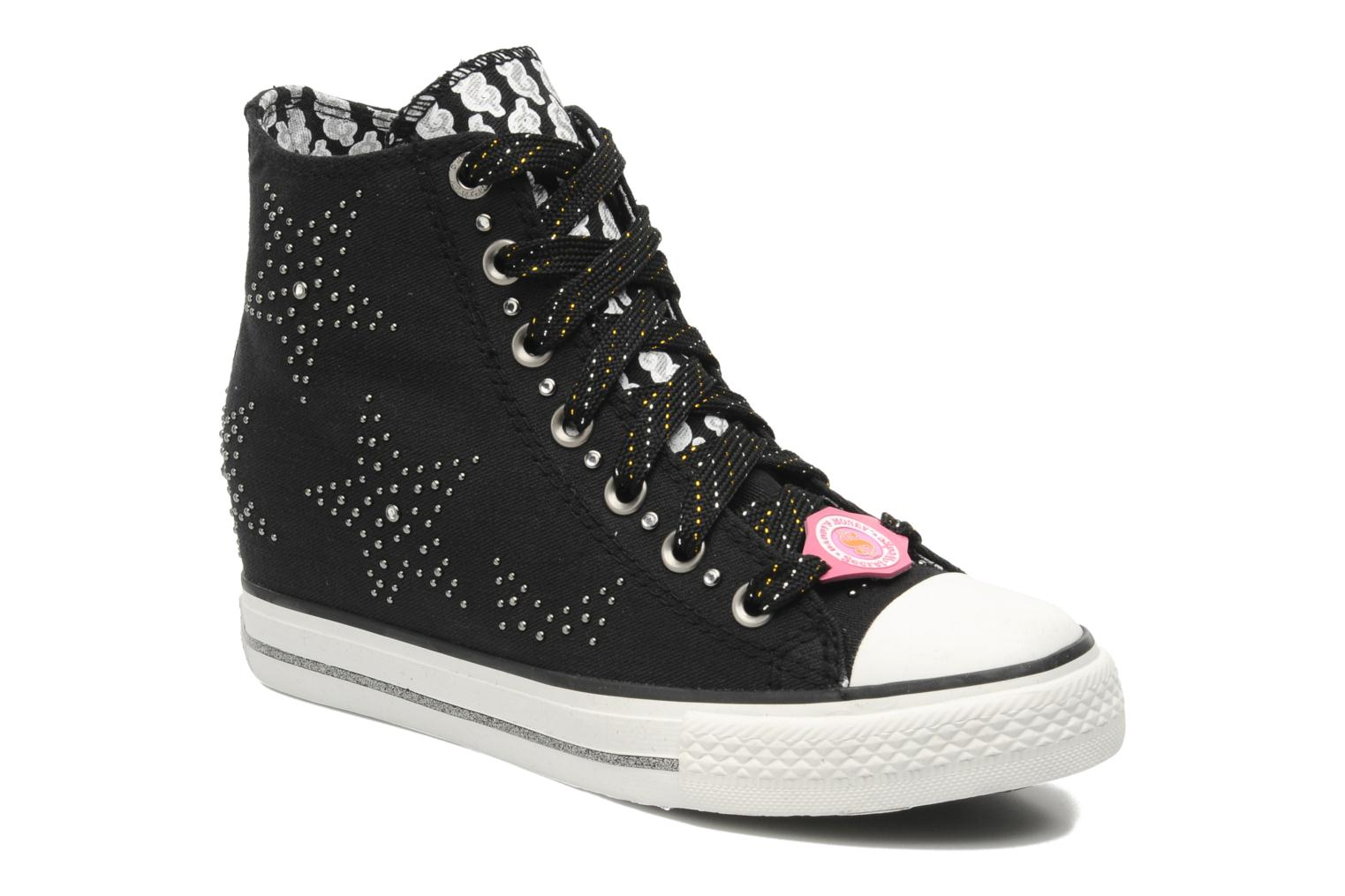 Sneakers Skechers Daddy's money- Star Studded 39101 Zwart detail