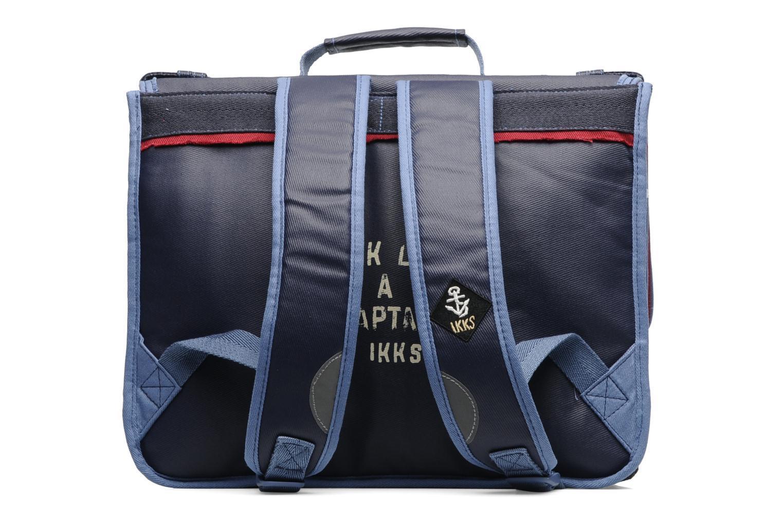 School bags Ikks Cartable 38 cm PIRAT Blue front view