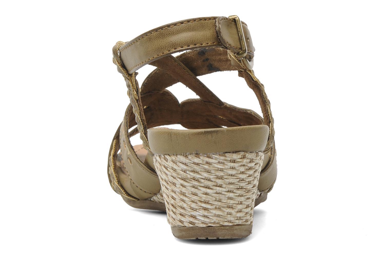 Sandalen I Love Shoes Suzanita braun ansicht von rechts