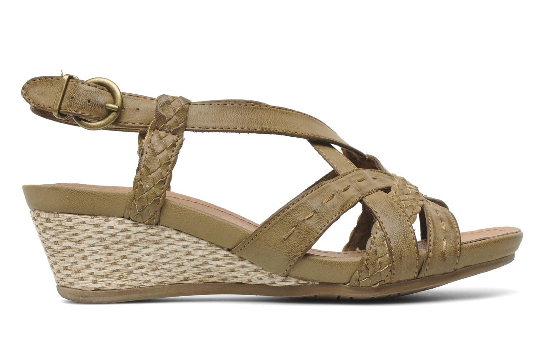 Sandalen I Love Shoes Suzanita braun ansicht von hinten