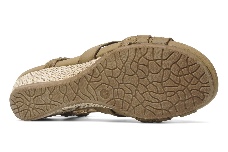 Sandalen I Love Shoes Suzanita braun ansicht von oben