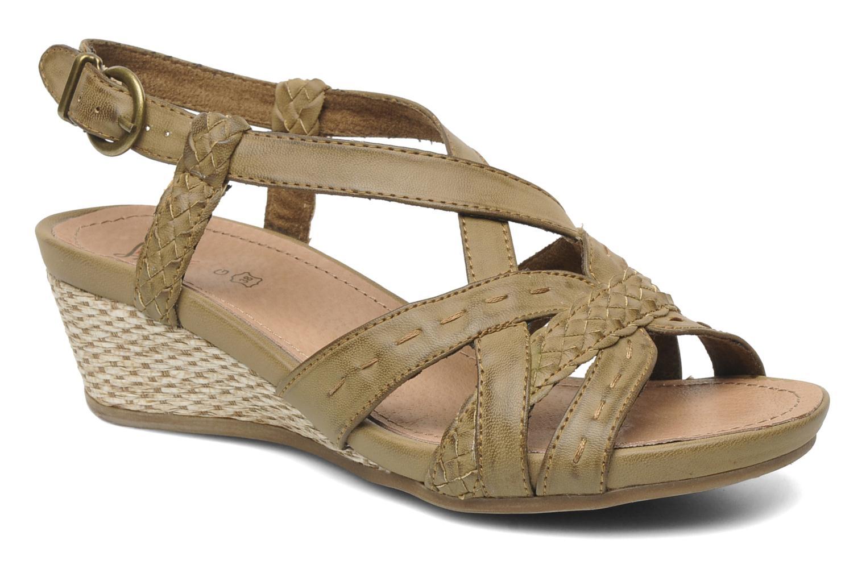 Sandales et nu-pieds I Love Shoes Suzanita Marron vue détail/paire