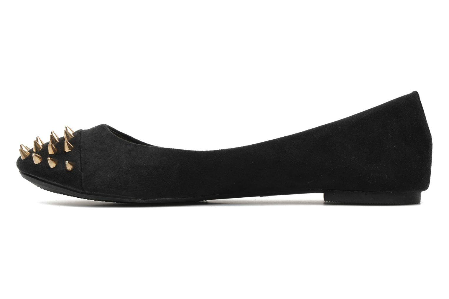 Ballerines I Love Shoes Phoutch Noir vue face