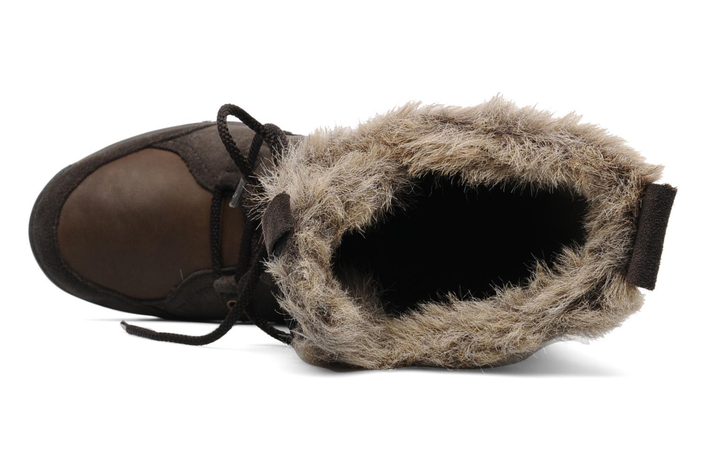 Chaussures de sport Teva Lenawee Lther Wp Marron vue gauche