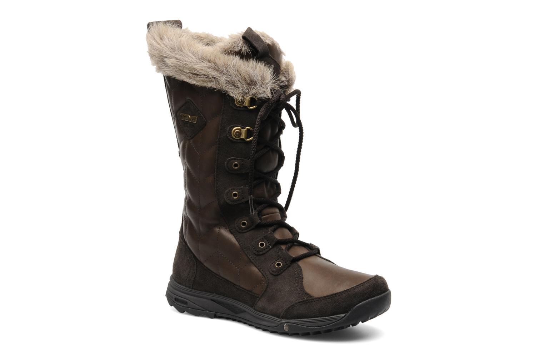 Chaussures de sport Teva Lenawee Lther Wp Marron vue détail/paire