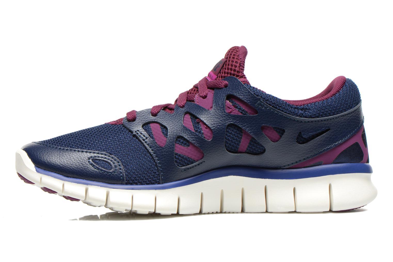 Wmns Nike Free Run+ 2 Ext Mid Nvy/Dp Ryl Bl-Mlbrry-Prpl