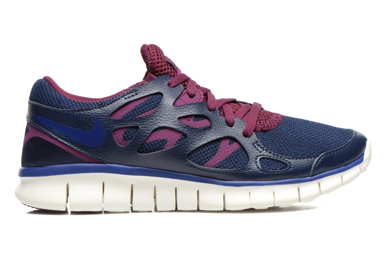 Sportschoenen Nike Wmns Nike Free Run+ 2 Ext Blauw achterkant