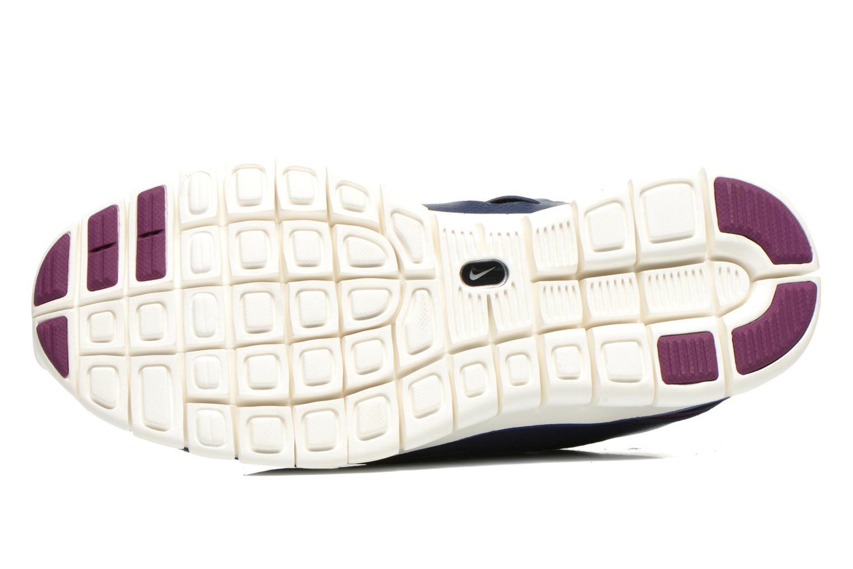 Chaussures de sport Nike Wmns Nike Free Run+ 2 Ext Bleu vue haut