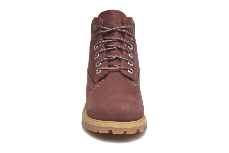 Stiefeletten & Boots Timberland 6 In Premium WP Boot weinrot schuhe getragen
