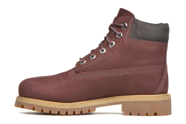 Boots en enkellaarsjes Timberland 6 In Premium WP Boot Bordeaux voorkant