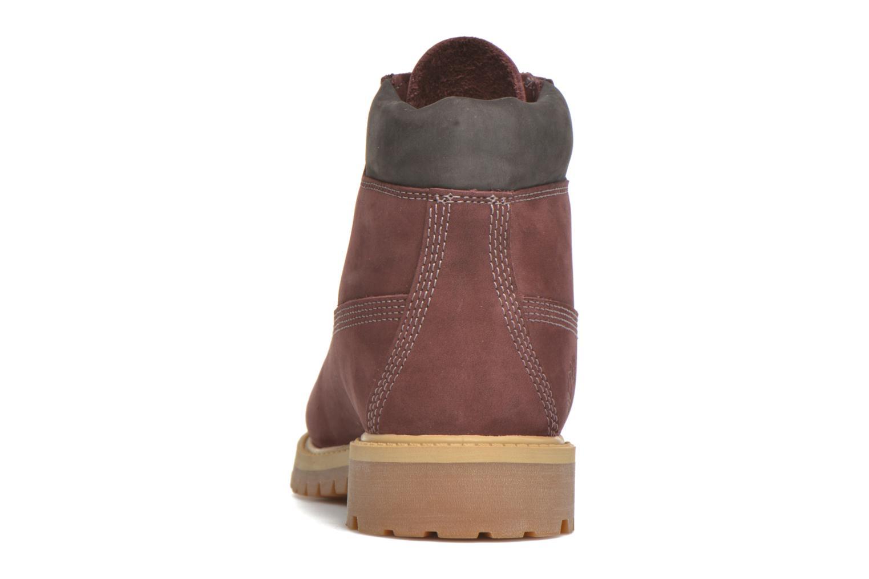 Boots en enkellaarsjes Timberland 6 In Premium WP Boot Bordeaux rechts