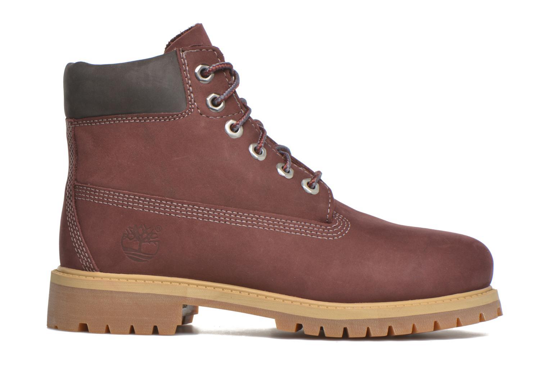 Boots en enkellaarsjes Timberland 6 In Premium WP Boot Bordeaux achterkant