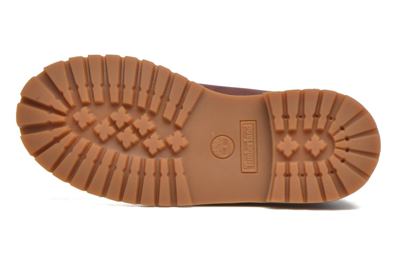 Boots en enkellaarsjes Timberland 6 In Premium WP Boot Bordeaux boven