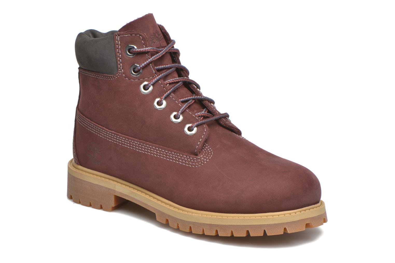 Stiefeletten & Boots Timberland 6 In Premium WP Boot weinrot detaillierte ansicht/modell