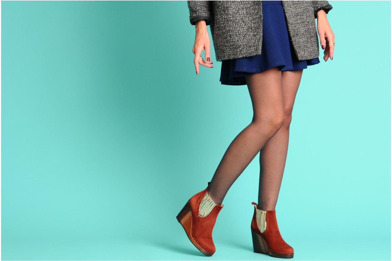 Stiefeletten & Boots MySuelly Léon blau ansicht von unten / tasche getragen