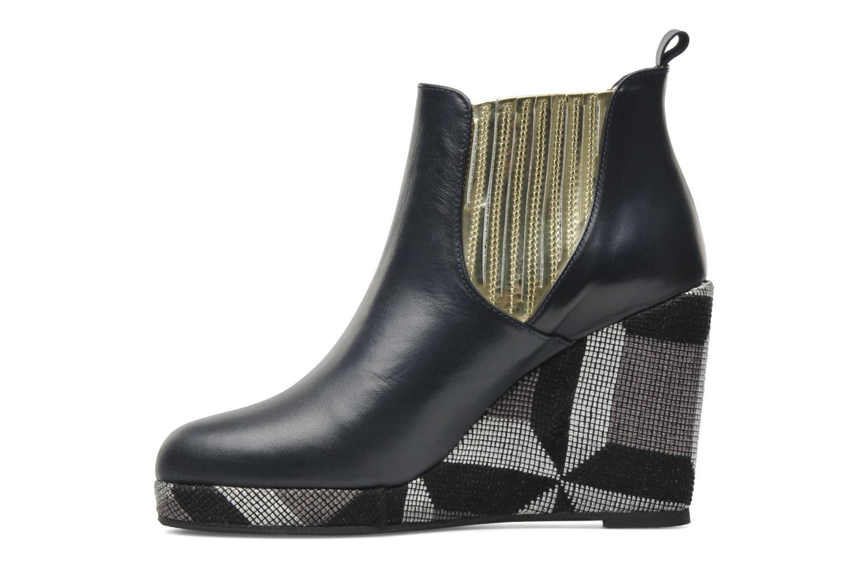 Bottines et boots MySuelly Léon Bleu vue face