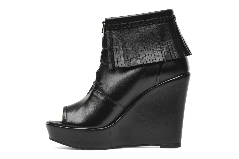 Boots en enkellaarsjes MySuelly Simon Zwart voorkant