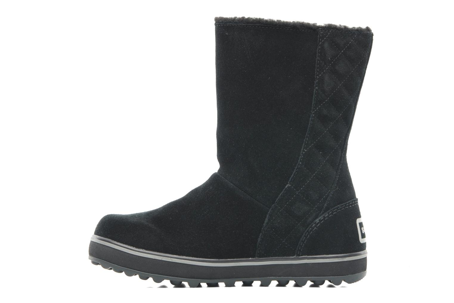 Ankle boots Sorel Glacy Black front view